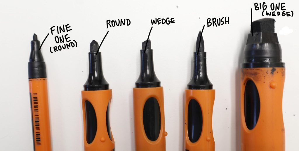 Neuland Markers for graphic recording