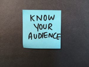 for speakers, know your audience